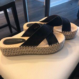 Nasty gal Platform Espadrille Sandals